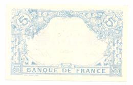 5 Francs Bleu, 1912 - 1871-1952 Circulated During XXth