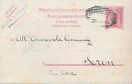 1905 Impero Austro-Ungarico - Italia - Tirolo - Primiero - Seren Del Grappa - Covers & Documents