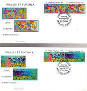 """2 Enveloppes 1er Jour De 2005 """" TAPAS """" Timbres Du N° YT BF19. Parfait état. FDC - FDC"""