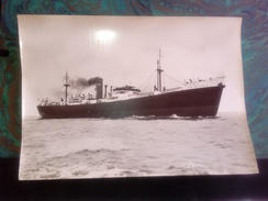 LOWTHER CASTLE     +- 35 * 25 CM   REAL PHOTOGRAPH BOAT BARCO BOOT BOAT - Schiffe