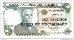 Mozambique - Pick 119 - 1000 Escudos 1972 - Unc - Mozambico