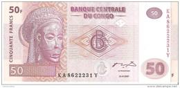 Congo - Pick 97 - 50 Francs 2007 - Unc - Congo