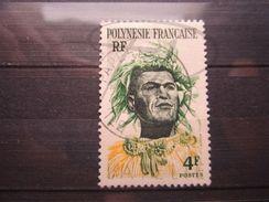 "VEND BEAU TIMBRE DE POLYNESIE FRANCAISE N° 5 , OBLITERATION "" PAPEETE "" !!! - Polinesia Francese"