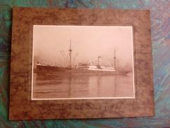 SS ELISABETH VAN BELGIE     +- 32 * 24 CM   REAL PHOTOGRAPH BOAT BARCO BOOT BOAT - Boten