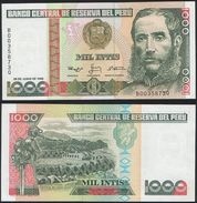 Peru P 136 B - 1000 1.000 Intis 28.6.1988 - UNC - Pérou