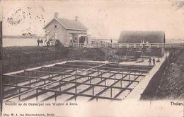 THOLEN 1906 - OESTERPUT VAN WAGHTO EN ZOON - OESTERCULTUUR OESTERS HUITRES - OESTERPUTTEN - 2 SCANS - Tholen