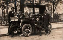 ! Old Photo, Paris Taxi, Taxis, Renault, Foto Duvau, Voiture, Automobil, Car, Frankreich, France, Fotokarte - Taxis & Fiacres
