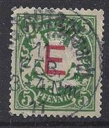 Bayern Dienst 1908  (o) Mi.2 - Bavière