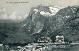 SWITZERLAND - Railway -  Klaine Scheidegg Und Wetterhorn - BE Berne