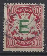 Bayern Dienst 1908  (o) Mi.3 - Bavière