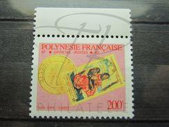 VEND BEAU TIMBRE DE SERVICE DE POLYNESIE FRANCAISE N° 25a +BDF , XX !!! - Service