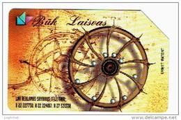 LITUANIE 1998, BUK LAISVAS, Used Magnetic Telephone Card /  Utilisée. R676 - Litauen