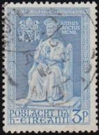 Ireland - Scott #143 Statue Of St. Peter (*) / Used Stamp - 1949-... Republic Of Ireland