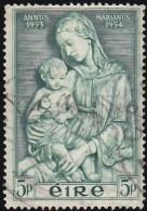 Ireland - Scott #152 Madonna By Della Robbia / Used Stamp - 1949-... Republic Of Ireland