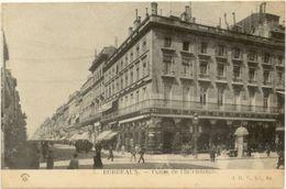 33/CPA A 1900  - Bordeaux - Cours De L'Intendance - Bordeaux