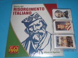 Risorgimento Italiano,,album VUOTO+SET COMPLETO DI TUTTE LE FIGURINE Panini 2011 - Panini