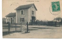 10) Saint-Léger (près De Troyes) : La Gare (1911) - Autres Communes