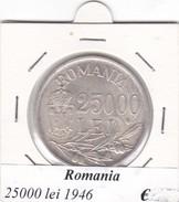 ROMANIA   25000 LEI   ANNO 1946  COME DA FOTO - Roumanie