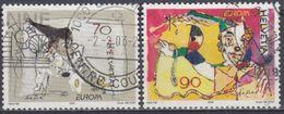 SUIZA 2002 Nº 1719/20 USADO - Usados