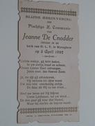Jeanne DE CNODDER Kerk O.L.V. Te Wyneghem Op 3 April 1927 ( Zie Foto's ) ! - Communion