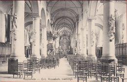 RUYSSELEDE Ruiselede OLV Kerk O.L.Vrouwkerk Inwendige Binnenzicht 1910 Uitg. Cesar Standaert (In Zeer Goede Staat) - Ruiselede