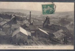 Carte Postale 42. Saint-Etienne  Puits Du Jardin Des Plantes  Trés Beau Plan - Saint Etienne