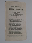 Noëlla SABBE Kapel Der Zusters Apostelinnen Te THIELT Den 16 Juni 1924 ( Zie Foto's ) ! - Communion
