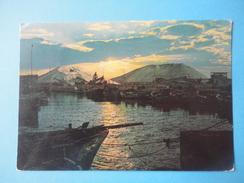 Margherita Di Savoia- Foggia - Tramonto Sul Porto Canale - Sullo Sfondo Montagne Di Sale - Controluce