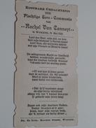 Rachel Van CANNEYT Te Wyngene 31 Mei 1923 ( Zie Foto's ) ! - Communion
