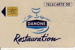TELECARTE 50 UNITES DANONE RESTAURATION - 50 Units