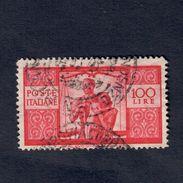 Democratica 100 Lire Usato Cod.fra.230 - 6. 1946-.. Repubblica