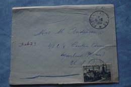 2-307 FM Seul Sur Lettre 1952 Lettre Pour étranger  T O E Indochine USA Par Paris Légion étrangere Secteur Postal 82.002 - Postmark Collection (Covers)