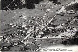 CHAMONIX MONT-BLANC 74 HAUTE-SAVOIE CHAMONIX  A VOL D'OISEAU 7095 CHARNAUX FRERES - Chamonix-Mont-Blanc