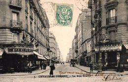 LEVALLOIS PERRET -92- LA RUE GRAVEL - Levallois Perret
