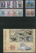 1983 Vaticano, Annata Completa 10 Valori 3 Foglietti, Tutte Serie Complete Nuove (**) - Annate Complete