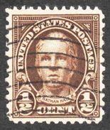United States - Scott #653 Used (2) - Stati Uniti