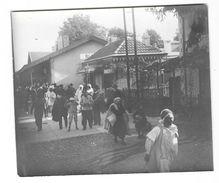BLIDA (Algérie)  Ancienne Photographie Quais De La Gare  Belle Animation Vers 1900-10 - Blida