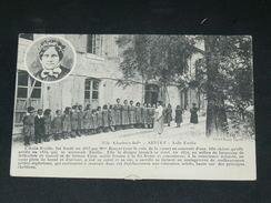 ARVERT / ARDT MARENNES / LA TREMBLADE    1910   ASILE EMILIE UNE CLASSE  ENFANTINE     CIRC OUI  EDIT - Francia