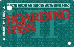 Palace Station Casino - Las Vegas NV - BLANK @1996 Slot Card - Casino Cards