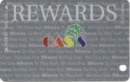Oasis Casino Mesquite, NV - Slot Card (BLANK) - Casino Cards