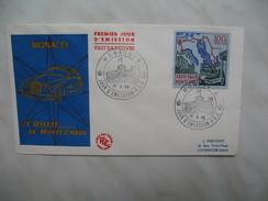 Monaco Année     1959   N° 510     1   Enveloppe - FDC