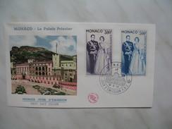 Monaco Année     1959   PA 71 / 72     1   Enveloppe - FDC
