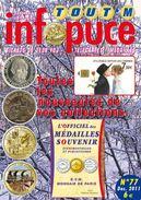 UNE REVUE INFOPUCE TOUT'M N°77 DE 2010 SUR LES TÉLÉCARTE FRANCE MONDE MÉDAILLES TOURISTIQUE TICKETS DE JEU FDJ - Phonecards
