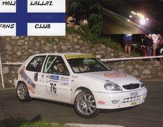Mali Lallaz  -  Citroen C1  -  Carte Promo - Rally