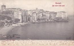 Termoli Dal Mare Circulée En 1906 - Altre Città