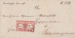 DR Brief Mef Minr.2x 4 R3 Lissa 13.4.72 - Deutschland