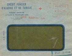 """Algerie Algeria 1955 Alger-Strasbourg Havas """"MG"""" 5308 EMA Meter Cover - Algerije (1924-1962)"""