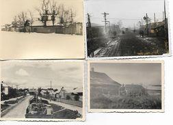 1940/44 - SARNY, 4 Orginal Foto 10X7cm. 2 Scan - Ucraina