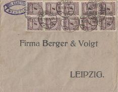 DR Brief Mef Minr.10x 325A Stettin 18.11.23 - Deutschland