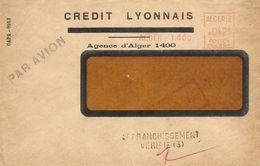 "Algerie Algeria 1955 Alger Havas ""CG"" 4291 EMA Meter Cover - Brieven En Documenten"